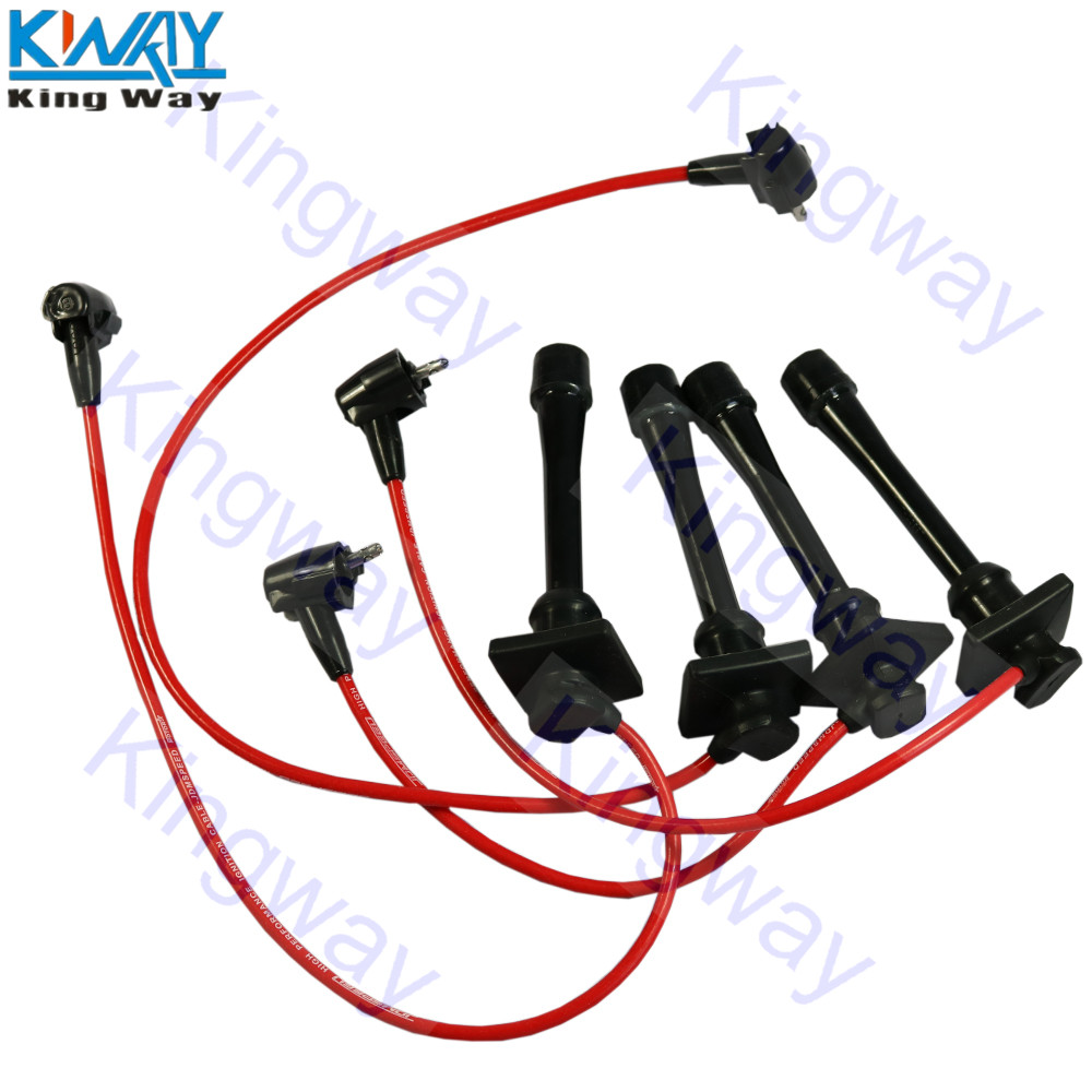 Plug-Wires Spark Celica Way-Ignition Corolla Toyota For 1993-97 Geo Prizm