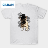 GILDAN Streetwear T-Shirt Clothes Dog Dandy Male Round Neck Short Sleeve Tee Shirts Popular Adult Printing On T Shirts