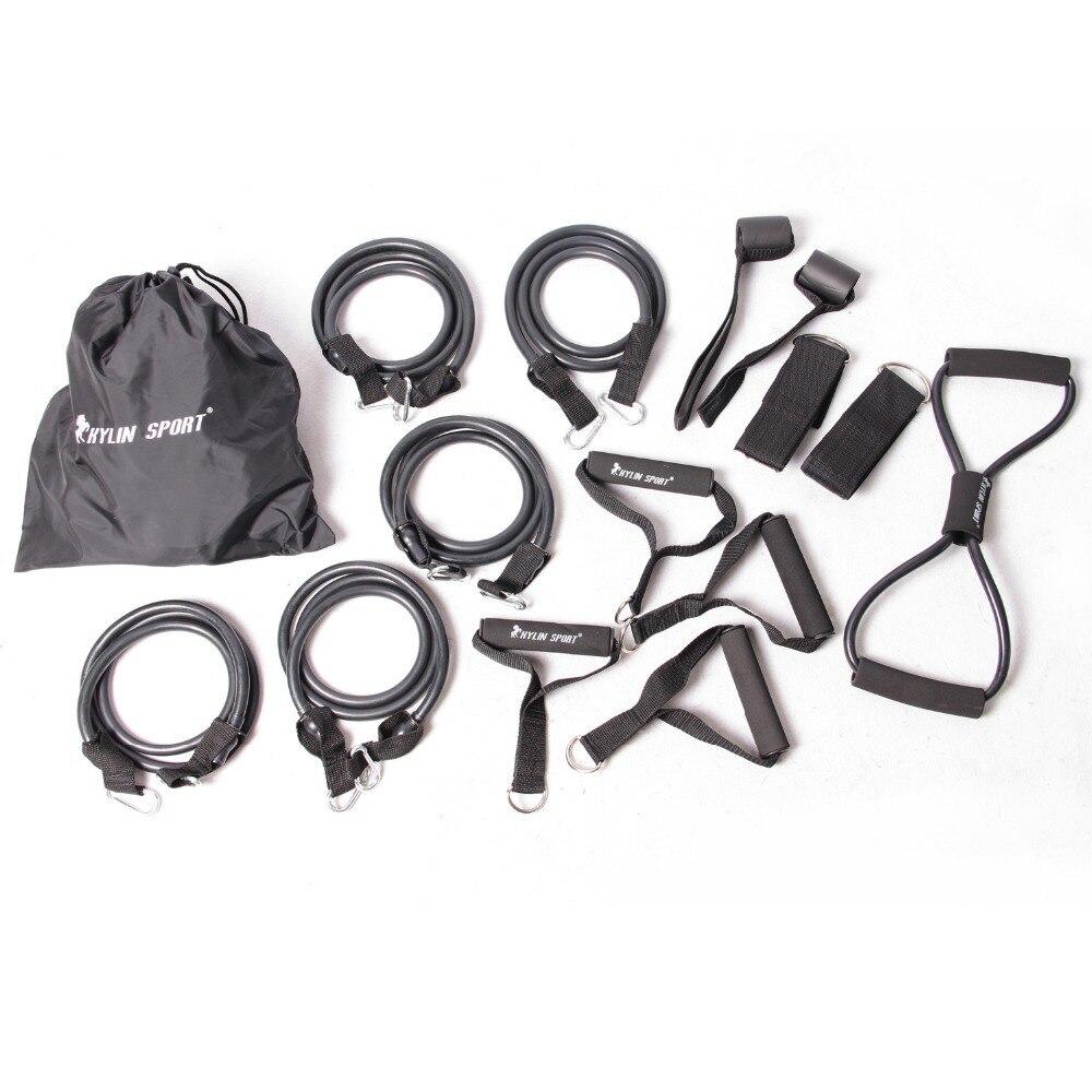 15 pcs accessoires home gym fitness workout accessoires kit set yoga accessoires pour gros kylin le sport