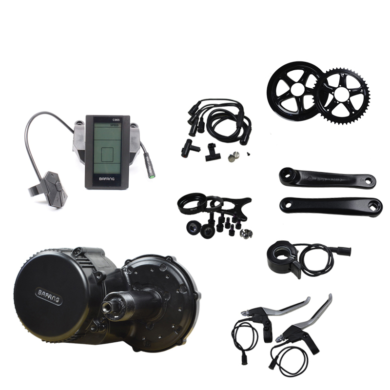 Bafang BBS01B 36V 350W Ebike Kit Mid Drive Latest Controller Mid Crank Motor Kit Motor Bike Kit Motor Bicycle free shipping authentic bafang 36v 350w electric bicycle bbs01 mid crank drive motor kit ebike c965 color 850c lcd conhismotor page 4