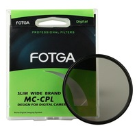 High Quality FOTGA 58mm PRO1 D Super Slim Multi Coated MC CPL Circular Polarizing Lens Filter