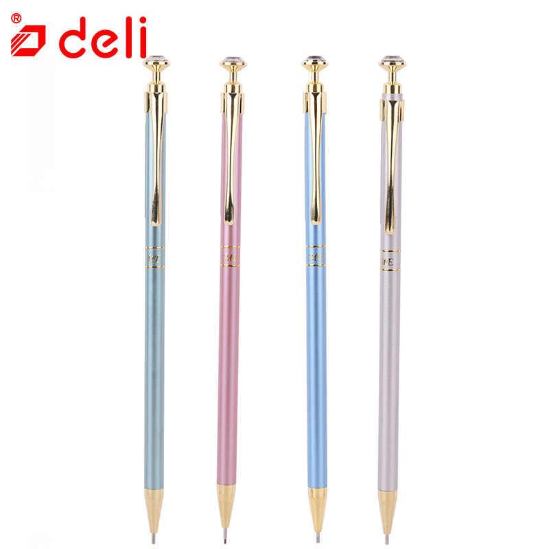デリ金属高級シャープペンシル学用品オフィス文具自動鉛筆書き学生 0.5/0.7 ミリメートル S716/S717