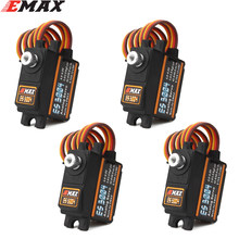 EMAX ES3004 17g 3,5 kg 0,13 sec 23T Metal Gear Analog Servo Für RC Flugzeug ES3104 upgrade(China)