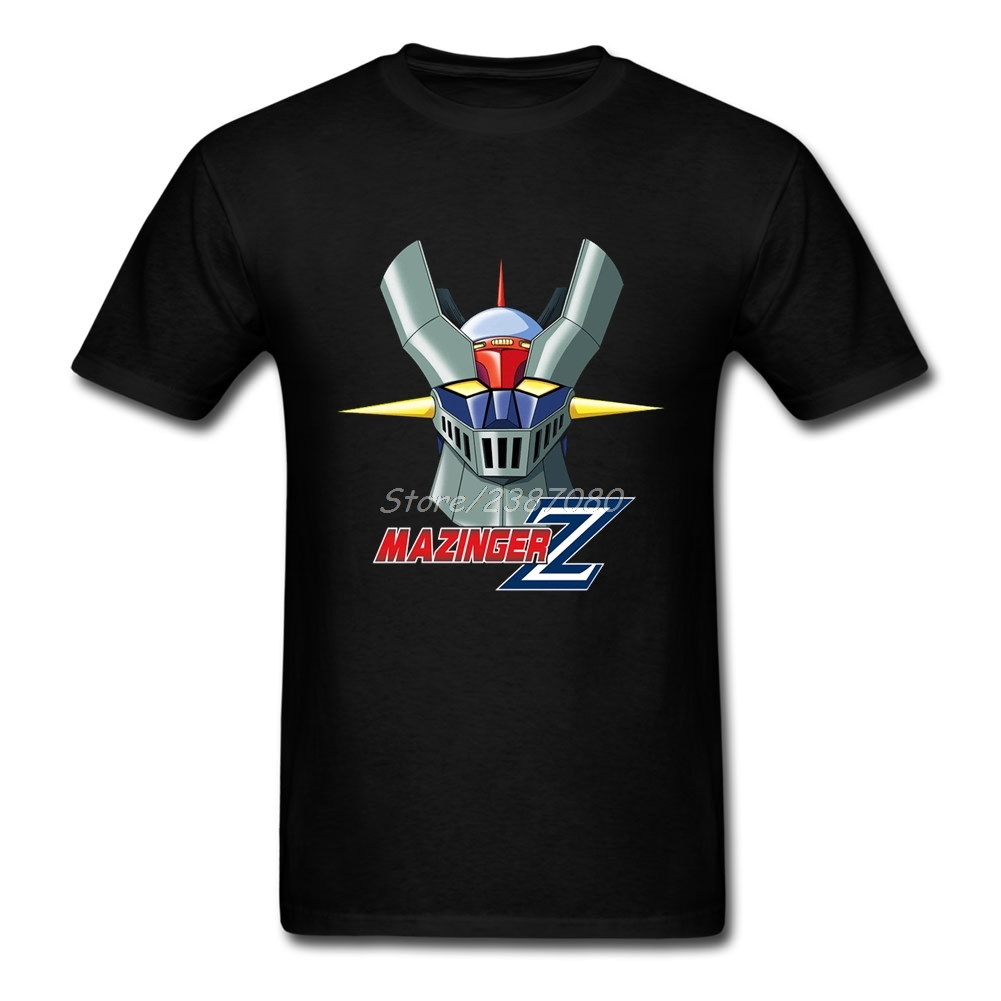 Mazinger Z T Shirt Short Sleeve Custom T Shirt Men New Style Geek XXXL Cotton  Funny T-shirts
