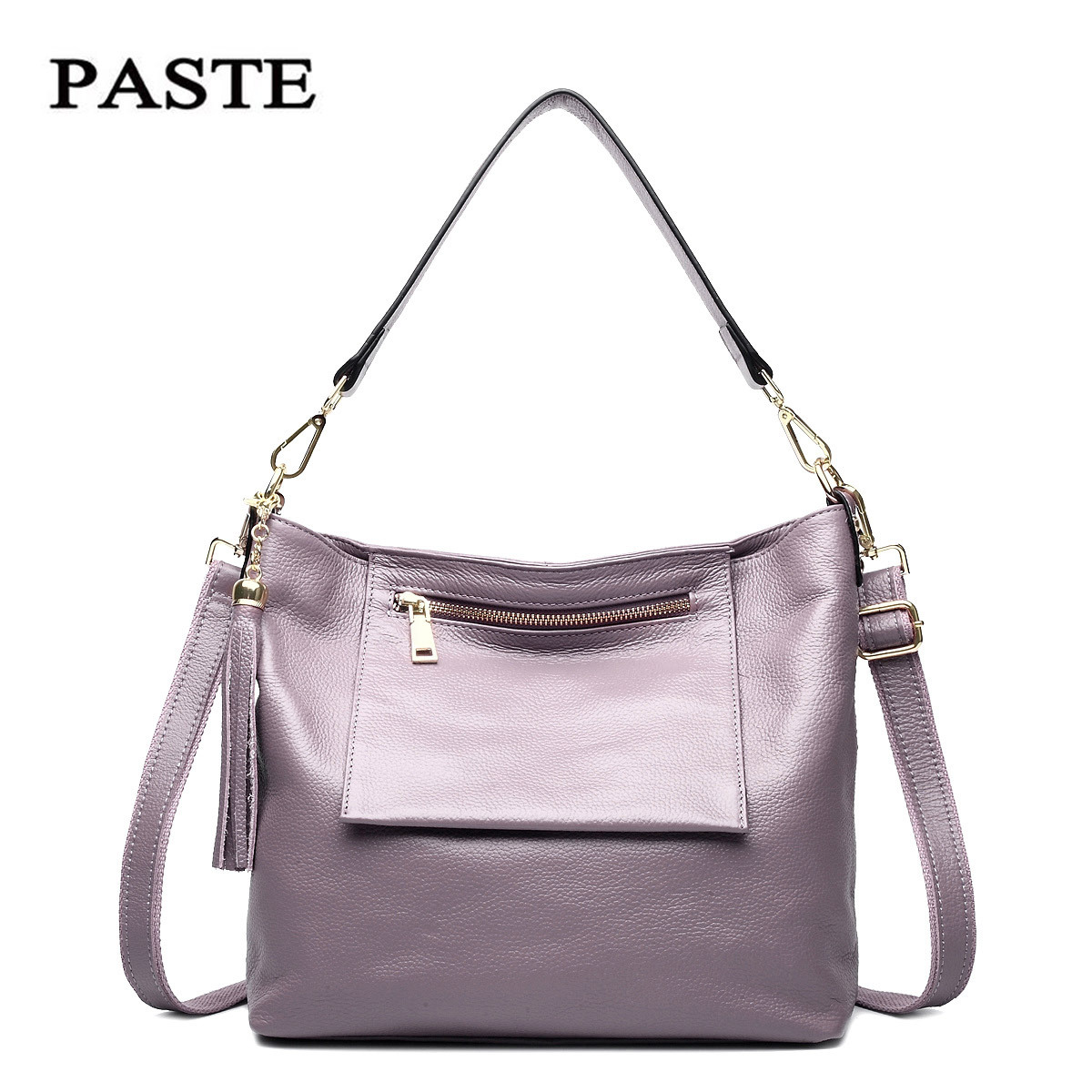 2018 New Arrival Fashion Design Women Bag Handbags Soft Genuine Cow Leather Single Shoulder Bags Luxury Cowhide Messenger bags fashion leather handbags luxury head layer cowhide leather handbags women shoulder messenger bags bucket bag lady new style