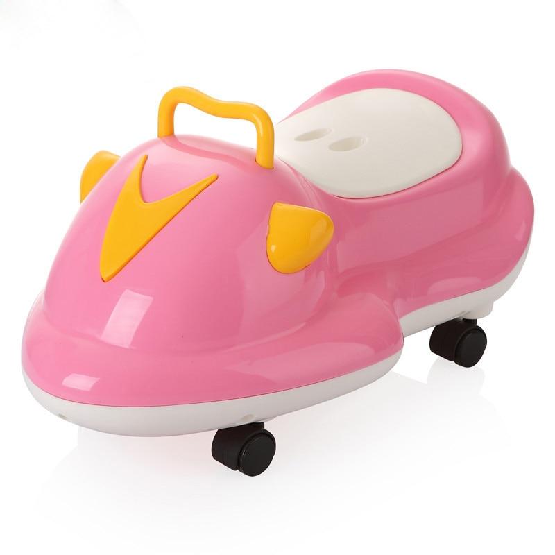 Gyerek potty műanyag szép autó bébi WC edzés fiú lányok unisex gyermek WC ülő potty hangulatos gyermek pot WC