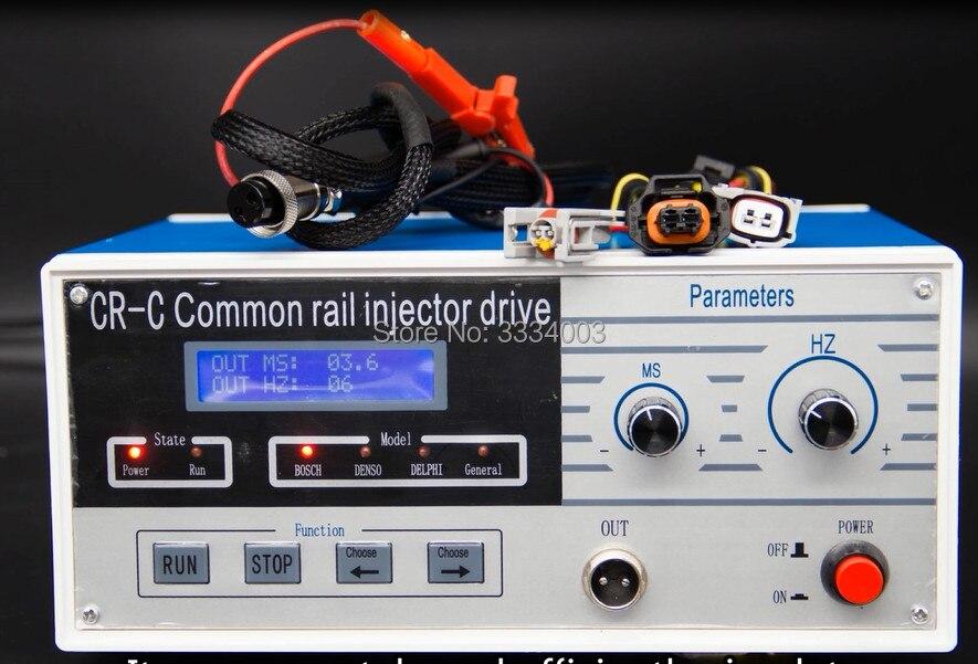 Für CR-C multi-funktion diesel common-rail-injektor elektromagnetische tester draht stecker für BOSCH DENSO DELPHI SIMENS