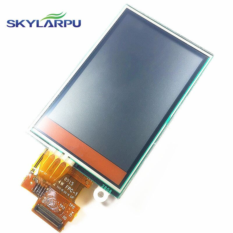 skylarpu 2.6 inch TFT LCD Screen for Garmin Rino 655 655t GPS LCD display Screen with Touch screen digitizer Repair replacement skylarpu 2 2 inch lcd screen module replacement for lq022b8ud05 lq022b8ud04 for garmin gps without touch