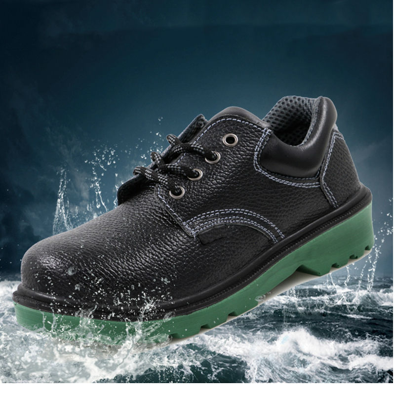 Купить с кэшбэком AC13014 Working Safety Shoes mens Boot Steel Toe Shoe Security Heavy Duty Sneakers Construction Chainmail platform shoes