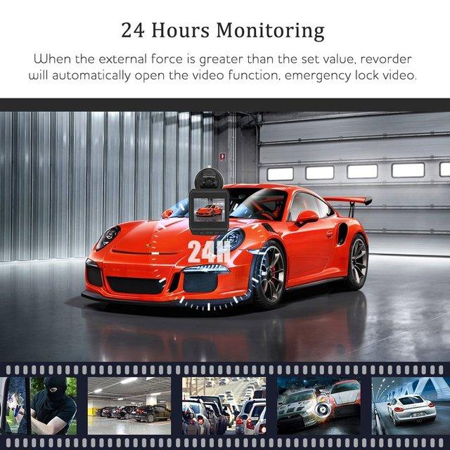 Cámara de salpicadero de coche AZDOME DAB211 Ambarella A12 2K 1440P Super visión nocturna Dashcam cámara grabadora DVR con grabación en bucle GPS ADAS