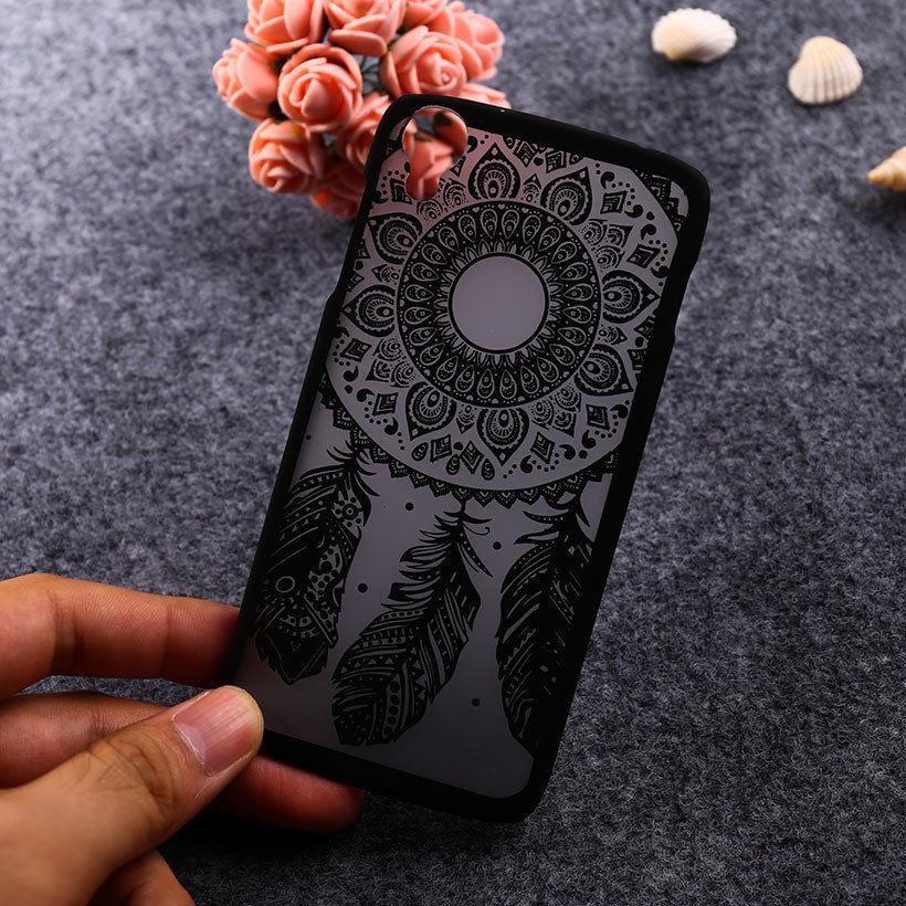 Cajas del teléfono de plástico duro para alcatel onetouch idol 3 4.7 ''cases 603