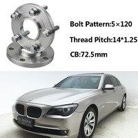 Jinke 2pcs 5x120 72.5CB Centric Wheel Spacer Hubs M14*1.25 Bolts For BMW F02 F03 F10 F11 F12 F20 F30 F26 F01 F13 F15 F34 F21 F33