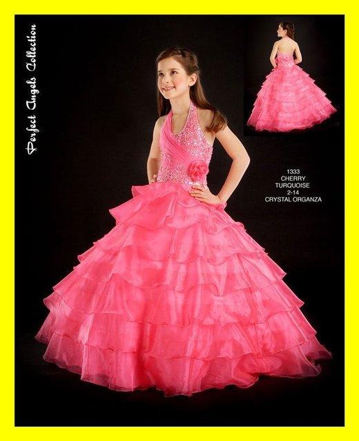 Flowergirl dresses uk light pink flower girl first holy communion flowergirl dresses uk light pink flower girl first holy communion little party girls wedding halter off mightylinksfo