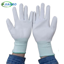 Free Shipping 10 Pairs Anti Static ESD Safe Antistatic Gloves Electronic Working Gloves PU Coated Antiskid For Finger Protection цена 2017