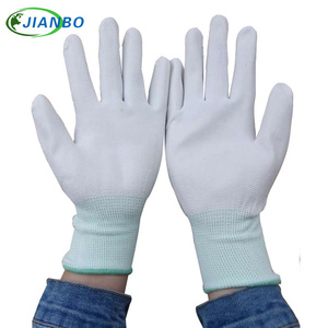 Image 1 - Free Shipping 10 Pairs Anti Static ESD Safe Antistatic Gloves Electronic Working Gloves PU Coated Antiskid For Finger Protection