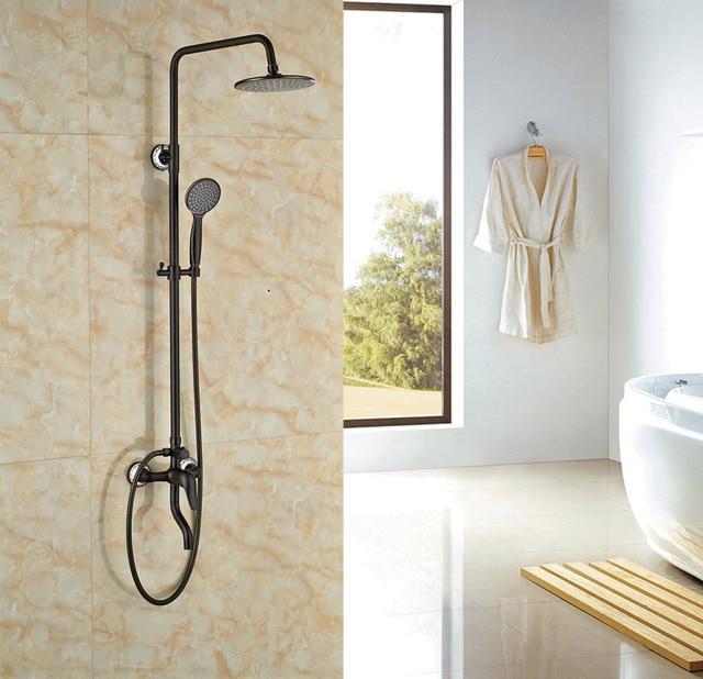 Rainfall Shower Oil Rubbed Broze Bath Tub Shower Units Single Lever ...