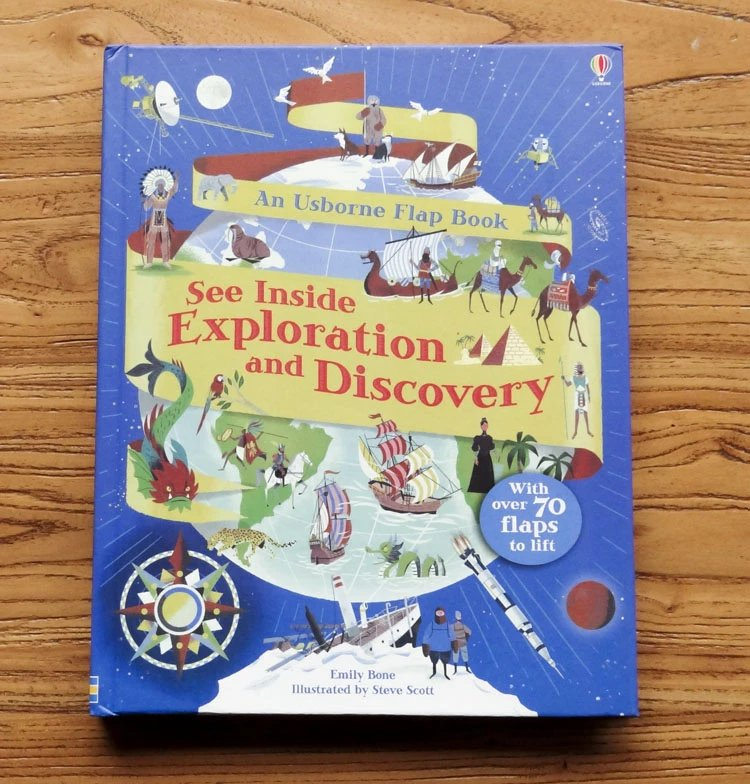 Usborne see inside Exploration and Discovery with over 70 flaps to lift best gift for kids working guide to reservoir exploration and appraisal
