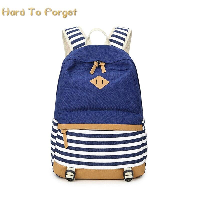 Трудно забыть элегантный дизайн печати холст рюкзак мешок школы для подростка Обувь для девочек мальчиков рюкзак школьный bagT2046