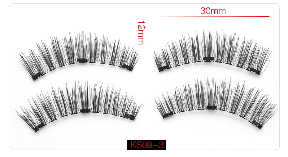 3d Magnetic False Eyelashes (13)