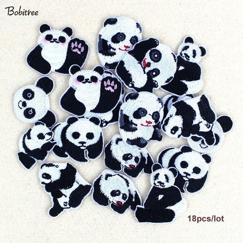 9 шт./лот, нашивки с рисунком панды для одежды, горячая Распродажа, нашивки с милыми животными для детской одежды ручной работы