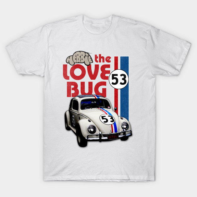 f50c6506ef Men 2018 Short Sleeve T-Shirts VW Beetle Herbie 53 Number 100% Cotton Car