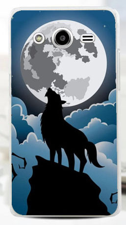 Cool Chimpanzee Lion Horse Polar Bear Parrot Owl Cat Wolf Cell Phone Case For Samsung Galaxy Core 2 G355H lot/1pc free ship
