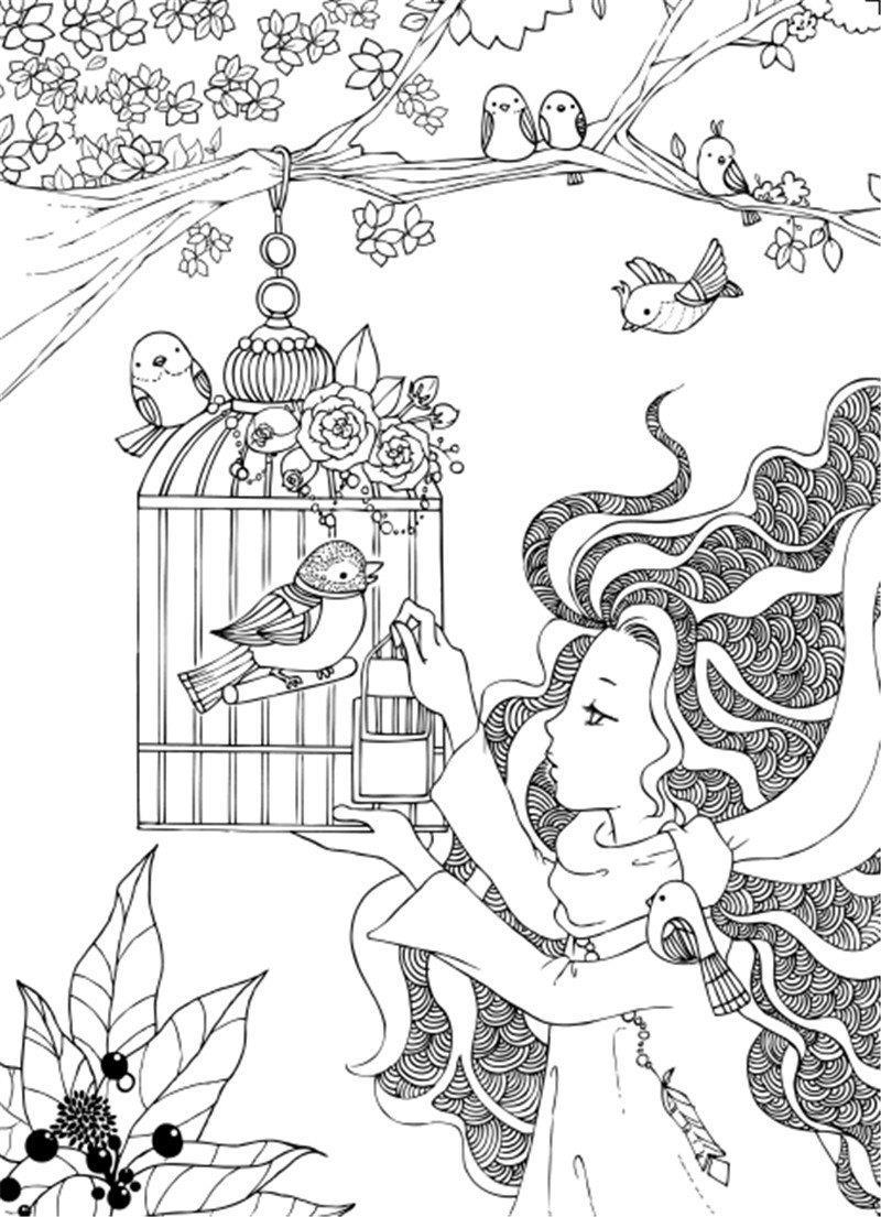 Coloring book untuk dewasa - Warna Pen Adalah Tongkat Sihir Buku Mewarnai Untuk Orang Dewasa Anak Anak Membunuh Waktu Hadiah Antistress Graffiti Lukisan Menggambar Buku Mewarnai Di Buku