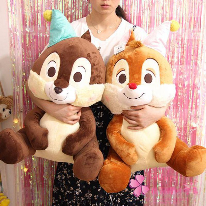 Large Size Japanese Chip 'n' Dale Squirrel Plush Toy Cute Soft Stuffed Animals Dolls Kids Pillow For Girls Children Baby Gift adriatica часы adriatica 1243 1211q коллекция gents