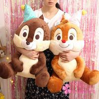 Large Size Japanese Chip 'n' Dale Squirrel Plush Toy Cute Soft Stuffed Animals Dolls Kids Pillow For Girls Children Baby Gift