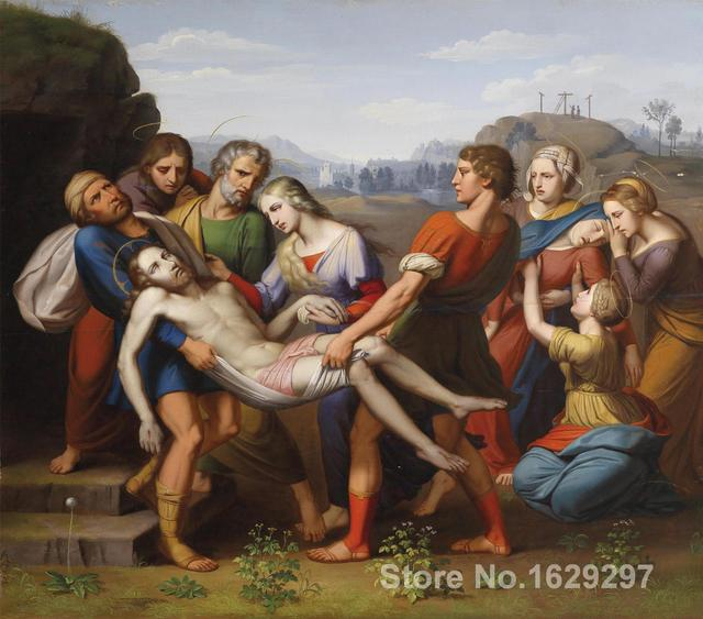 The Deposition of Christ Painting