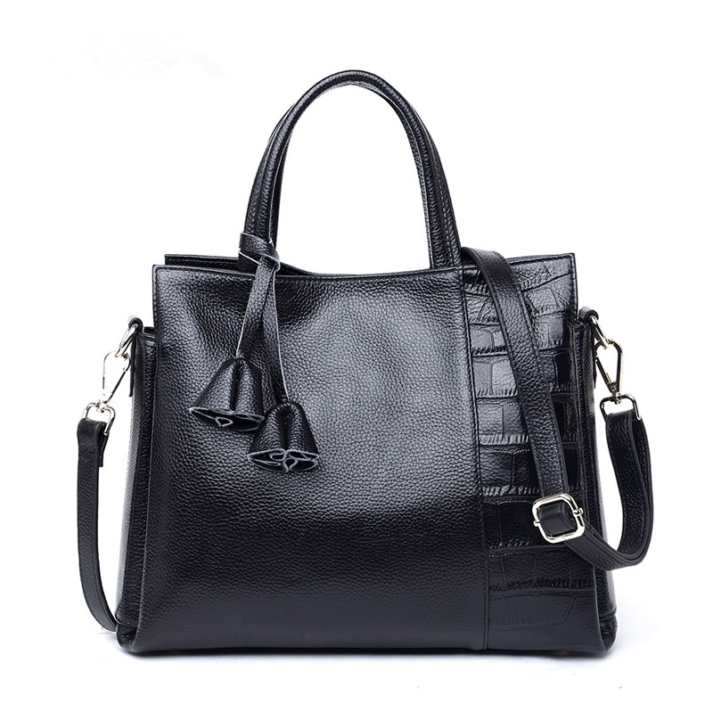 Cowhide Genuine Leather Bags Designer Women Handbag Female Handbags Ladies Portable Shoulder Bag Office Ladies Hobos Bag Totes dermagor fashion designer women handbag female pu leather bags handbags ladies portable shoulder bag office ladies hobos bag tot