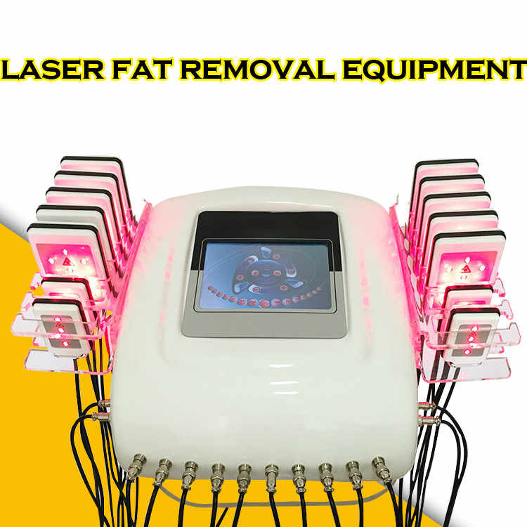 8092aba425c3d 650nm laser lipolaser slimming lnstrument fast fat burning remover body  shaping weight loss machine (14pcs