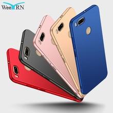 Купить с кэшбэком WeeYRN Protective Case For Xiaomi mi 5X miA1 Luxury Phone Case Matte Hard Plastic Full Cover For Xiaomi Xiomi mi A1 mi5X Funda
