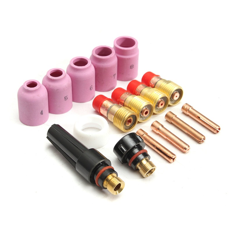 Sg-51 Plasmaschneiden Verbrauchsmaterial Düsenspitzen 20 Stücke Paket Schnelle Farbe Schweißbrenner