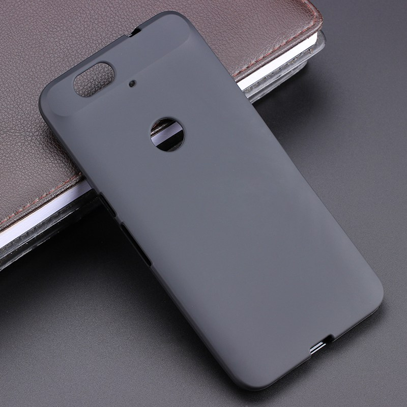 Black Gel TPU Slim Soft Anti Skiding Case Back Cover For HUAWEI Nexus 6P Nexus6P H1511 H1512 5.7 inch Phone Rubber silicone Bag
