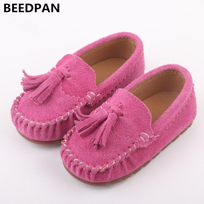 Beedpan 2018 Spring Autumn New Kids Shoes Boys Loafers Genuine Leather Baby Tassel Shoes Fashion Toddler Girl Sport Shoes Casual men casual shoes genuine leather man breathable men s shoe fashion flat spring autumn 2017 new mens walking loafers boys
