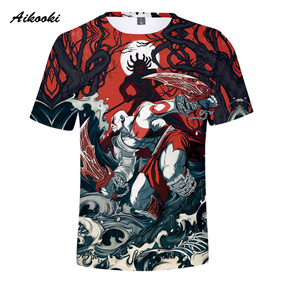 Gaming shirts T shirt Men/Women Tshirt 3D Print 2018 4