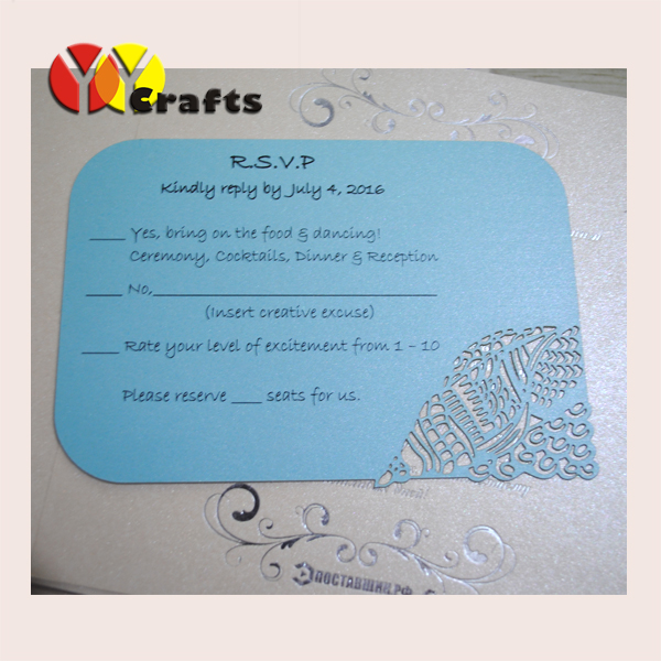 Blue beach wedding invitation card cheap matching rsvp card with blue beach wedding invitation card cheap matching rsvp card with free printing for wedding and party decoration in cards invitations from home garden on filmwisefo
