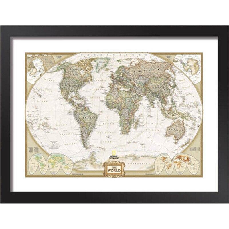 Worksheet. Aliexpresscom  Buy Framed painting Letter globe world map