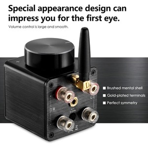 Image 4 - Nobsound Latest Little Bear G5 Hi Fi Mini Bluetooth Digital Amplifier Audio Amp Stereo 50W*2 with Power Supply