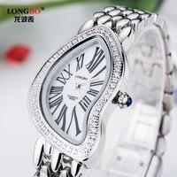 Longbo Brand Luxury High Grade Diamond Ladies Watch Korean Fashion Female Quartz Watch Top Quality Girl