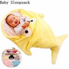 Baby Sleeping Bags Envelope For Newborns Shark Sleepsack Children Winter Swaddle Bedding Blanket Baby Sleep Organic Bed Stroller