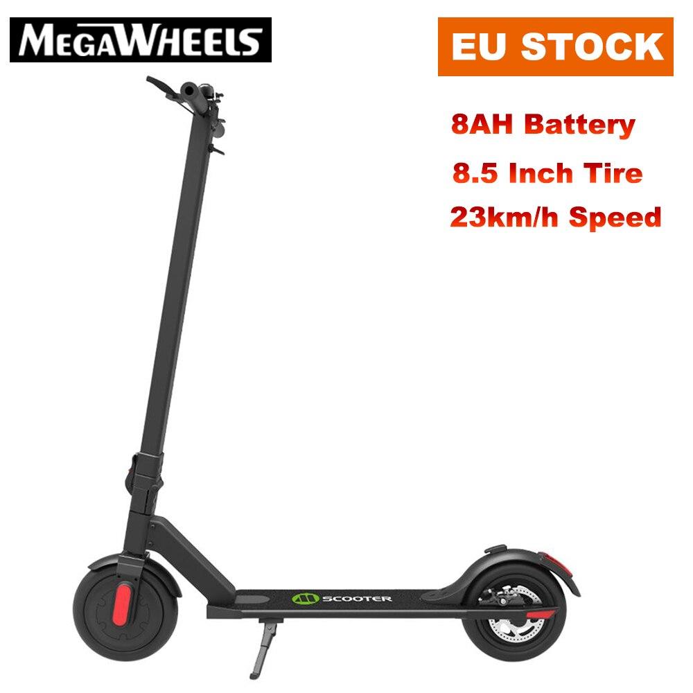 [EU Stock] Megawheels S5-1 Portable pliant électrique adulte Scooter 250 W moteur 23 km/h 5.8Ah 8.5 pouces pneu planche à roulettes électrique