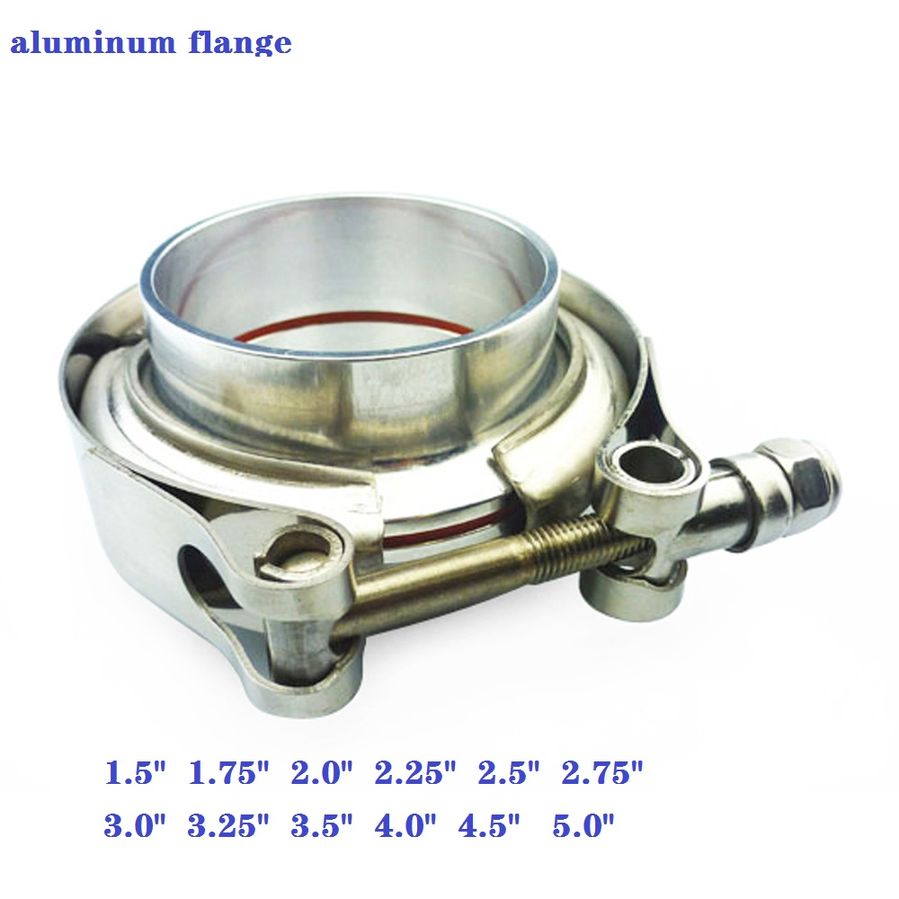 """Universal Aluminum alloy 3/"""" Turbo Clamshell Clamps Clamp Black B"""