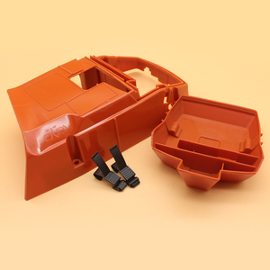 Image 3 - Top Engine Cylinder Shroud & Air Filter Cover Clips For HUSQVARNA 365 362 371 372 Chainsaw Spare Parts