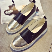 Women Flats Shoes Loafers Shallow Slip O