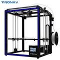 2018 Tronxy 3D impresora X5SA-400 más grande tamaño de impresión de la pantalla táctil de 3,5 pulgadas TFT PLA filamento ABS