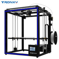 2018 Tronxy 3D printer X5SA 400 Larger print size 3.5 inch TFT Touch Screen PLA ABS Filament