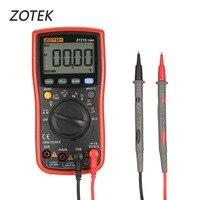 ZOTEK ZT219 19999 Counts True RMS Auto Range Digital Multimeter AC/DC Voltage Current Voltmeter Capacitance Ohm Diode Meter
