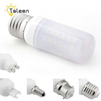 TSLEEN 10x High Bright 5730 SMD E27 G9 LED Corn Lamp Bulb E14 B22 GU10 Milky White 110V 220V 7W 9W 12W 15W 20W 25W Led Light - DISCOUNT ITEM  52 OFF Lights & Lighting
